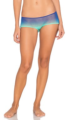 Soire Ombre Boyleg Underwear in Ultra Blue & Mint