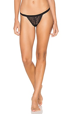 Bisou Lace G String in Black
