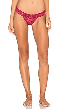 Never Say Never Brazilian Minikini Underwear in Deep Ruby
