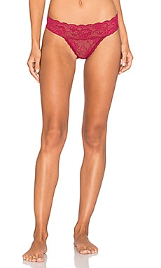 Never Say Never Tootsie Bikini Underwear en Deep Ruby