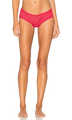 Minoa Low Rise Hotpant in Claret Red