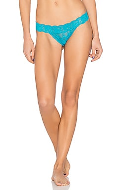 Never Say Never Brazilian Minkini Underwear in Picasso Blue