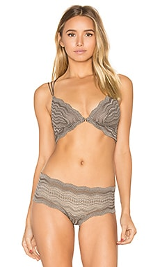 Ceylon Criss Cross Bralet en Smoky Gray