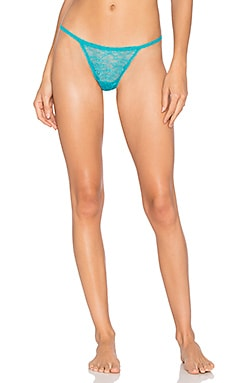 Trenta G String in Sea Green