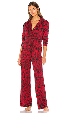 Bella Long Sleeve Top & Pant PJ Set Cosabella $135