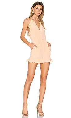 Bellamy Romper in Peach