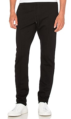 COTTON CITIZEN The Cobain Pant in Jet Black