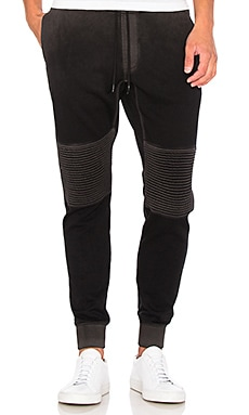 COTTON CITIZEN The Biker Jogger in Vintage Black