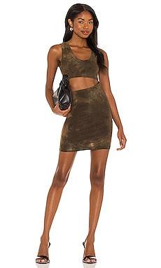 x REVOLVE Brisbane Cut Out Tank Dress COTTON CITIZEN $225