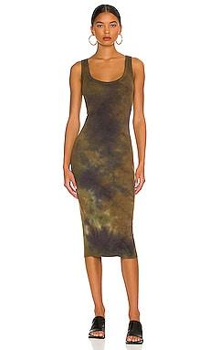 The Verona Midi Dress COTTON CITIZEN $185 NEW