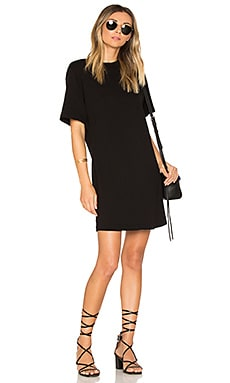 The Tokyo Mini Dress in Jet Black