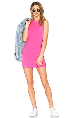 The Monaco Mini Dress in Pink