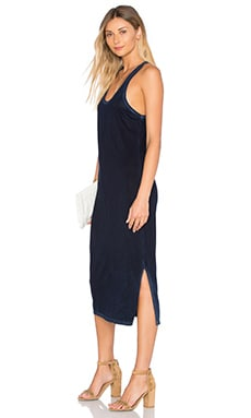 COTTON CITIZEN Mykonos Midi Dress in Navy