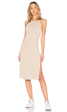 Melbourne Tank Midi Dress With Slit COTTON CITIZEN $145