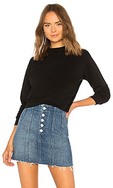 Milan Cropped Sweatshirt COTTON CITIZEN $195 BEST SELLER