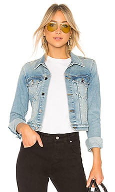 Crop Denim Jacket COTTON CITIZEN $325 BEST SELLER