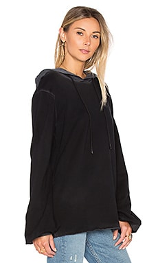 x REVOLVE The La Marais Hoodie in Vintage Black