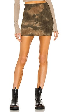 x REVOLVE Ribbed Mini Skirt COTTON CITIZEN $155