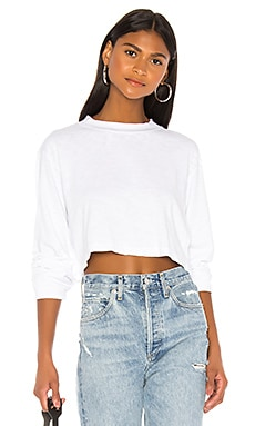Tokyo Long Sleeve Crop Tee COTTON CITIZEN $125 BEST SELLER