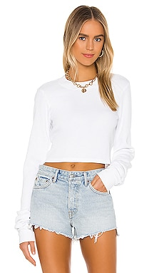 The Monaco Crop Long Sleeve COTTON CITIZEN $110 BEST SELLER