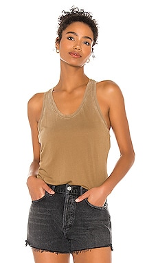 x REVOLVE The Mykonos Racer Tank COTTON CITIZEN $66