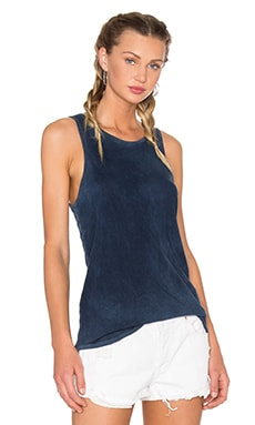 COTTON CITIZEN Marbella Tank in Navy