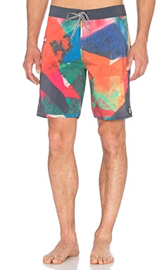 Captain Fin Larry Boardshorts in Multicolor