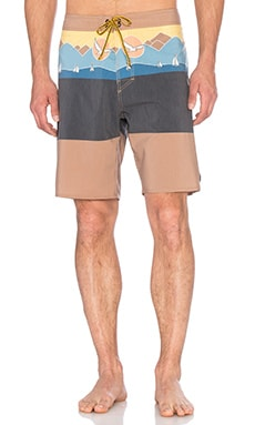 Captain Fin Sailing Boardshorts in Bronze