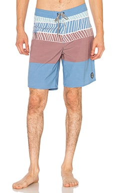 Captain Fin Psych City Boardshort in Blue