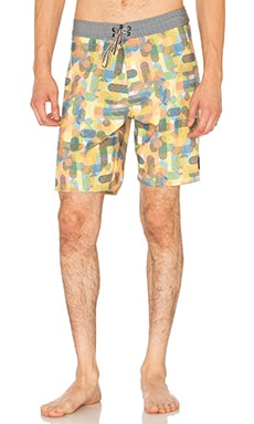 Captain Fin Halftone Boardshort in Multi