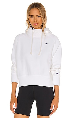 Reverse Weave Cropped PO Hoodie Champion $110