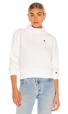 Cropped Mock Neck Sweatshirt Champion $105