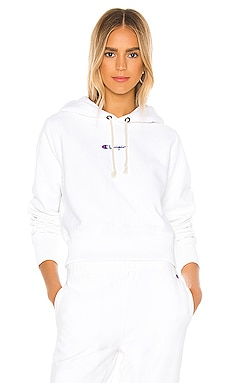 Central Script Hooded Sweatshirt Champion $115