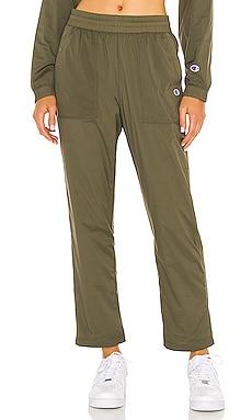 Брюки - Champion, Зеленый, Повседневные брюки