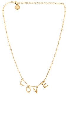 Code Words LOVE Necklace Cloverpost $124