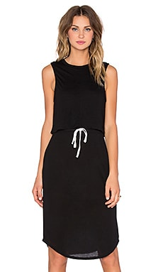 Craft & Commerce Double Layer Dress in Black