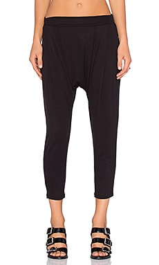 Craft & Commerce Harem Pant in Black