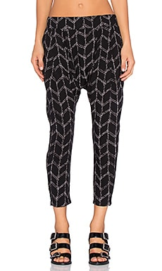 Craft & Commerce Harem Pant in Geo Print