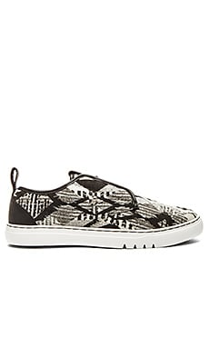Creative Recreation Lacava Q in Black White Tribal
