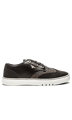 Creative Recreation Defeo Q in Black White Croc