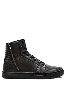 Creative Recreation Adonis in Black Leather