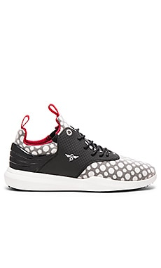 Creative Recreation Deross in Black White Dot Mesh