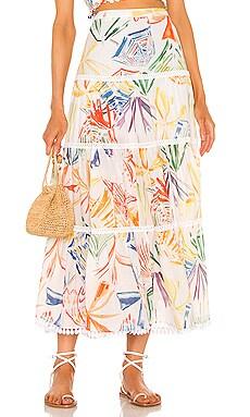 Berta Maxi Skirt Charo Ruiz Ibiza $368 Collections