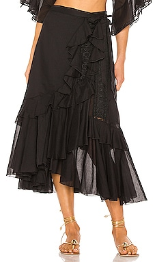 Donna Skirt Charo Ruiz Ibiza $428 NEW ARRIVAL