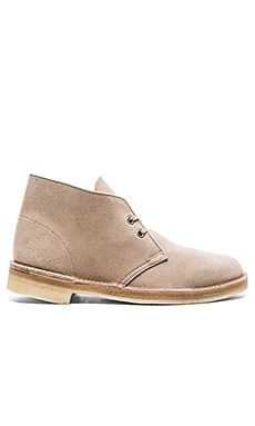 Clarks Originals Made in the UK 65th Anniversary Desert Boot in Sand Suede