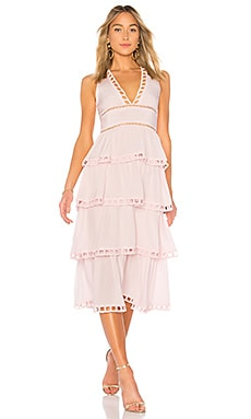 Postcard Midi Dress Cynthia Rowley $525