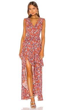 Savannah Tiered Maxi Dress Cynthia Rowley $475