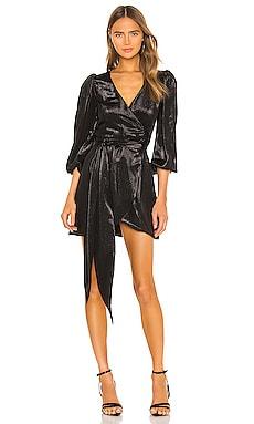 Lame Mini Wrap Dress Cynthia Rowley $105 (FINAL SALE)