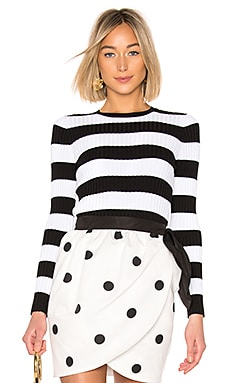 Striped Ribbed Sweater Cynthia Rowley $225