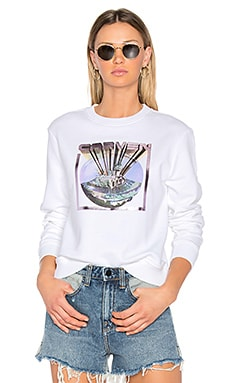 Graphic Sweatshirt in Blanc Optique